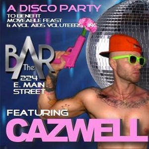 A Disco Party ft.  Cazwell at The Bar Complex -  DJ Gregor's live set - April 19th, 2017