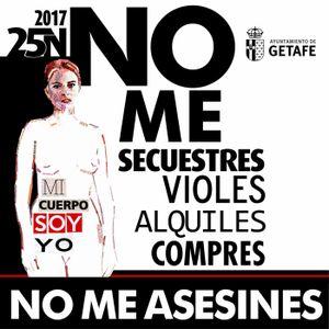 Mi cuerpo soy yo, hoy manifestación contra la violencia de género en Getafe