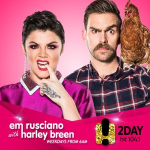 The Em Rusciano Radio Show with Harley Breen - Wednesday 15th November 2017