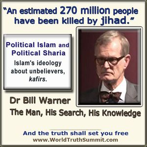 Show 1865 Why We Are Afraid of Islam. A 1400 Year Secret by Dr Bill Warner