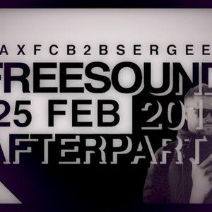 FSL 25 Feb 2017 After Party Live - Max FC b2b Sergeev (Part1)