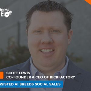 Human Assisted AI Breeds Social Sales