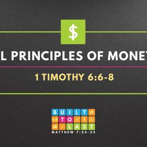 Biblical Principles of Money (Part 4) (Audio)