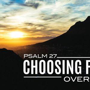 Choosing Faith Over Fear (Audio)