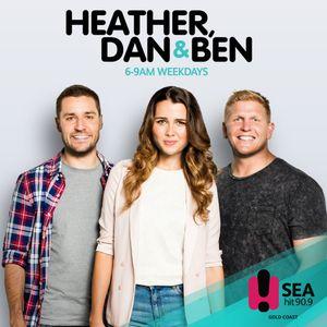 Heather, Dan & Ben 10th July