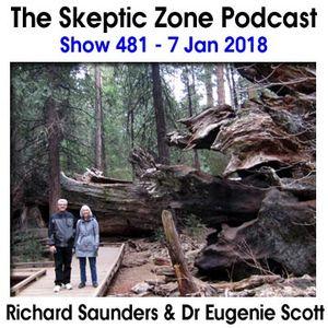 The Skeptic Zone #481 - 7.Jan.2018