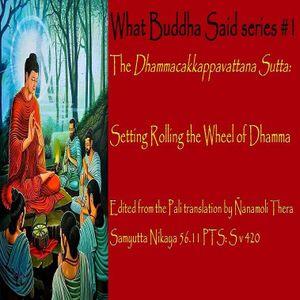 Setting The Wheel In Motion: The Dhammacakkappavattana Sutta
