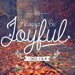 Always Be Joyful - Audio