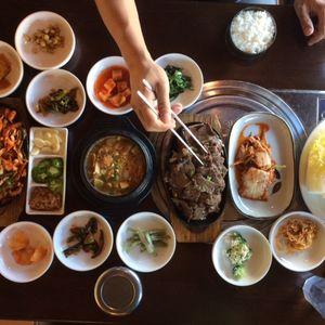 Kimchi and Cornbread