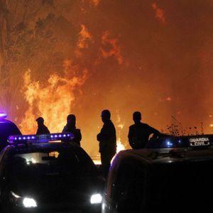 La Médium y María nos cuentan cómo están evolucionando los incendios en Galicia