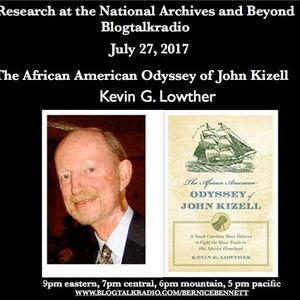 The African American Odyssey of John Kizell with Kevin Lowther
