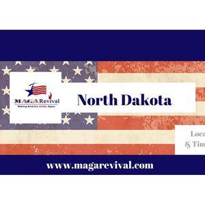 MAGA Revival - 50 Dayz a Blaze - Prayer for North Dakota