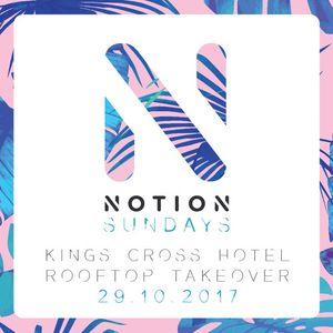 Notion Sundays - Kings X Hotel Takeover 29.10.17