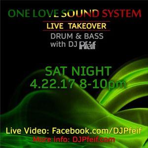 Show 132--4-22-17--OneLoveSoundSystem