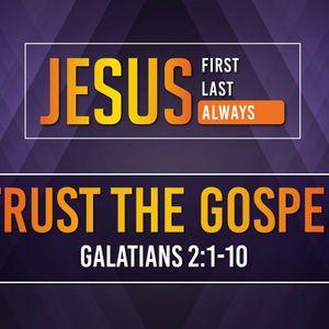 Trust The Gospel (Audio)