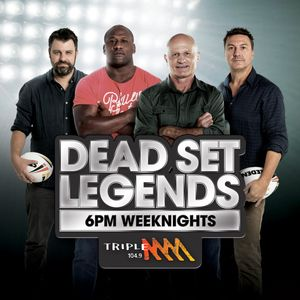 27/06/2017 Dead Set Legends Catch Up Podcast