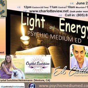 Jun 23 ~ Charlotte View: Light & Energy. Psychic Medium Ed (Free Readings)