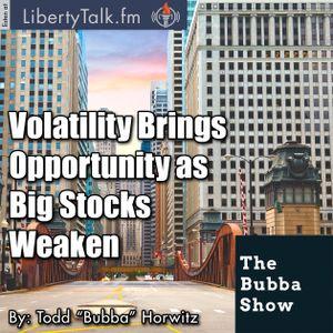 Volatility Brings Opportunity as Big Stocks Weaken