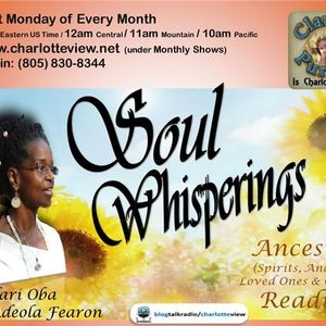 Feb 27 ~ Charlotte View: Soul Whisperings with Adeola Fearon