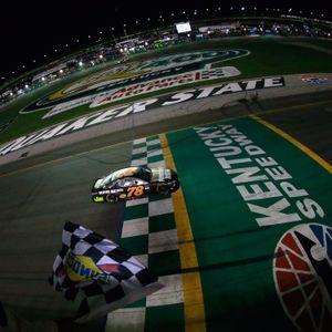 Martin Truex Jr Race Winner 07/09/2017