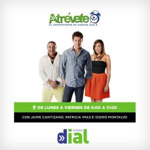 Atrévete. Disfruta de la hora más musical en compañía de Jaime Cantizano y Patricia Imaz