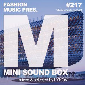 Lykov – Mini Sound Box Volume 217 (Weekly Mixtape)