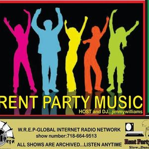 Rent Party with Host and DJ Jimmy Williams