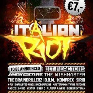 Beatshock Official Italian Riot Promomix (Download Available!)