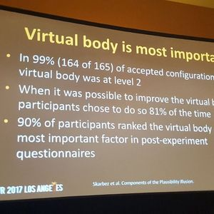 #555: VR Presence Researcher Finds Full Embodiment to be Key Component in Plausibility