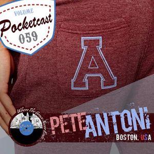 Pocket Volume Volume 059 l Pete Antoni l Boston, United States