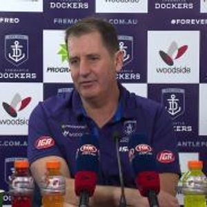 Ross Lyon post-match - round 15