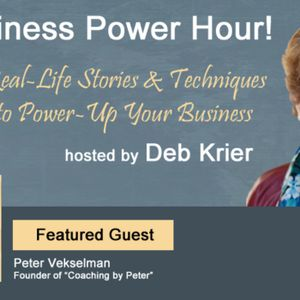 Guest: Peter Vekselman - Coaching with Peter""