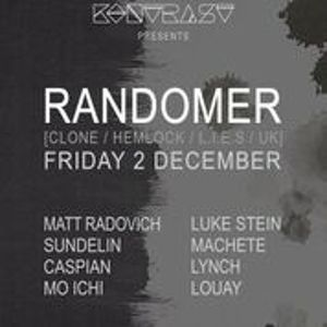 Louay DJing at Kontrast Present Randomer