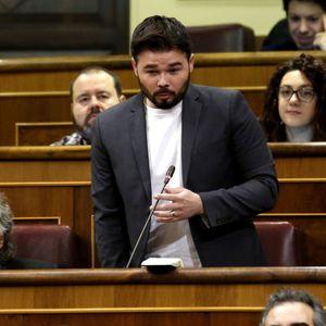 Tertulia: El tenso cruce de acusaciones entre Gabriel Rufián y el exdirector de la Oficina Antifraud