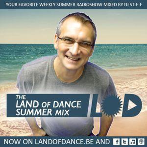 LAND OF DANCE SUMMER MIXed BY DJ St-e-f #428 w30