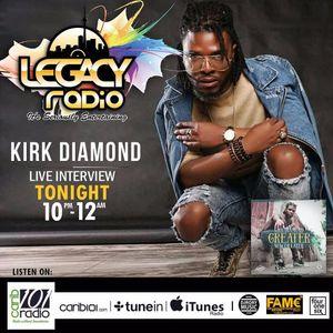 LEGACY RADIO - JUN 14TH - KIRK DIAMOND