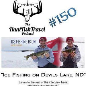 177 - North Dakota - Ice Fishing on Devils Lake