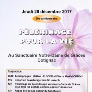 Où Ça Bouge En France 13 - 2017 - 12 - 01 Pélerinage Pour La Vie