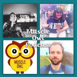 Muscle Owl Radio - Episode 56: Peter Runs the Belfast Marathon 2017 …DRESSED AS AN OWL! (Talks #49)
