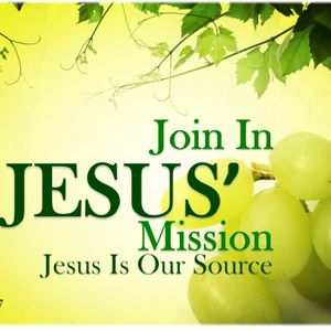 Join in Jesus' Mission