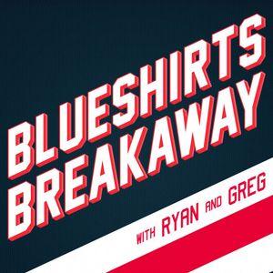 Blueshirts Breakaway EP 84 - The Guys Interview Adam Clendening