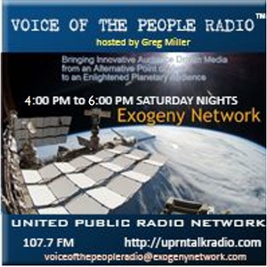 Voice Of The People w/ Gregory Miller July 07/08/2017