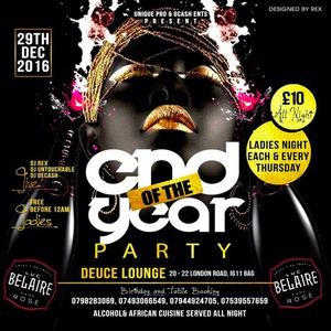 End of the year House Party Jam Vol3 hipop/bashment and afrobeat