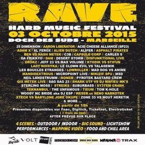 RAVE Hard Music Festival France (Promo mix by Mandidextrous