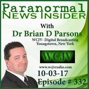 Paranormal News Insider with Dr. Brian Parsons