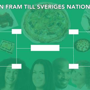 Slutspelsmatcher i nationalrätt, handslag och spådamen Linda Spåman