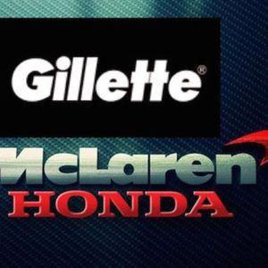 Gillette Mclaren Honda