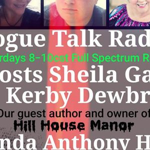 Rogue Talk Radio with guest Linda Anthony Hill