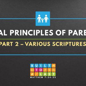 Biblical Principles Of Parenting (Part 2) (Audio)