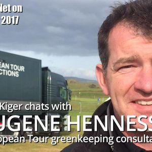 TurfNet on Tour with Eugene Hennessy, European Tour consultant, at Portstewart